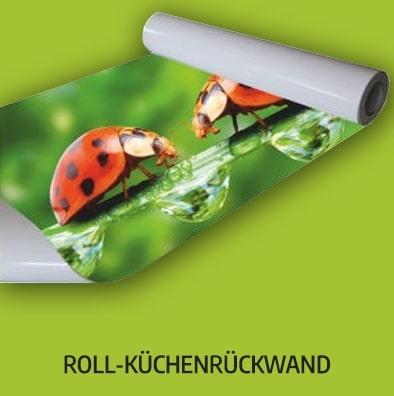 Roll-Küchenrückwand