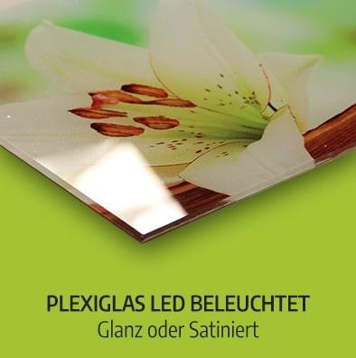 Plexiglas LED beleuchtet