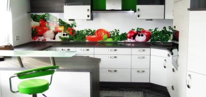 Küchen Rückwand Fliesenspiegel
