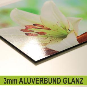 Küchenrückwand 3mm Aluverbund Oberfläche glanz