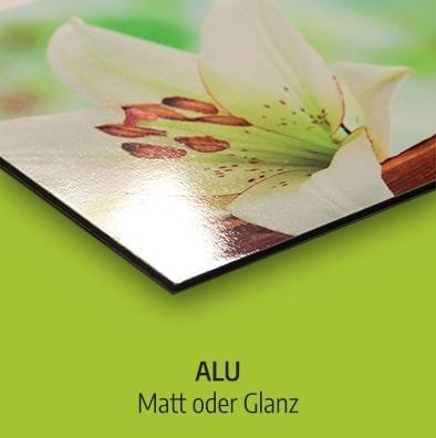 3mm Alu Glanz oder Matt